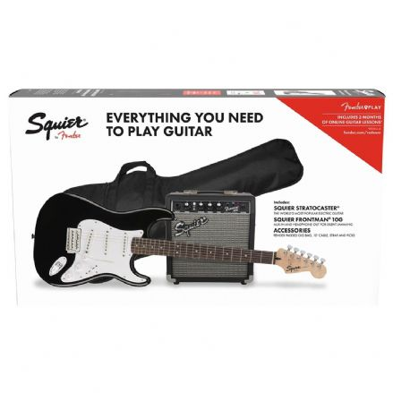 Squier Stratocaster Pack Black